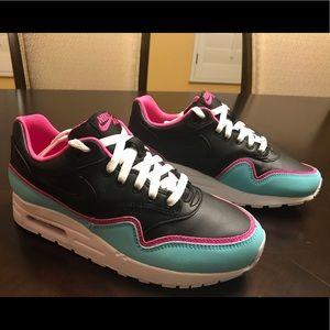 New Nike Air Max 1 Miami Vice South Beach Sneaker Shoes 8.5